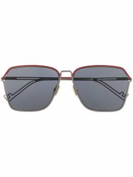 Fendi Eyewear солнцезащитные очки в квадратной оправе 202951KJ160IR