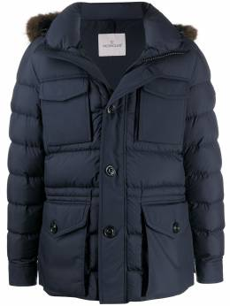 Moncler padded button-front coat E20914187925549SM
