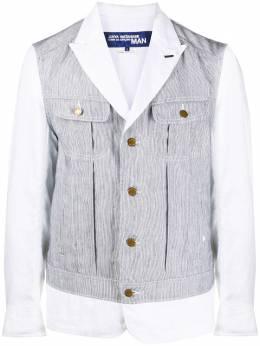 Junya Watanabe Man пиджак в полоску WEJ027S20