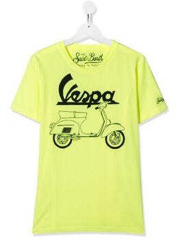 Mc2 Saint Barth футболка с принтом Vespa TSHIRTBOY