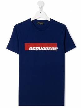 Dsquared2 Kids футболка с логотипом DQ03W7D00W5TD2T496M
