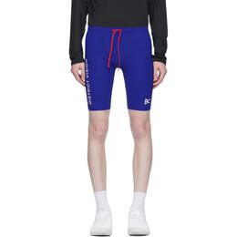 District Vision Blue TomTom Half-Tights Shorts DV0004
