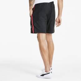 Puma - male - Шорты PUMA TFS Shorts Woven – Puma Black-High Risk Red – L 4062449892277