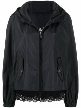 Ermanno Ermanno Scervino куртка с капюшоном и цветочным кружевом 46TCP31TAF