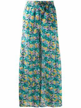 Dvf Diane Von Furstenberg брюки с цветочным принтом из коллаборации с Onia WWB2524XDVF