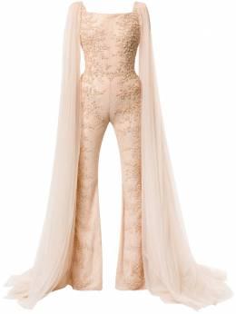 Saiid Kobeisy комбинезон с длинными рукавами и вышивкой RTWSS2007