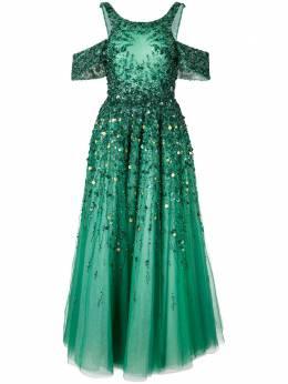 Saiid Kobeisy расклешенное платье с открытыми плечами RTWSS2039