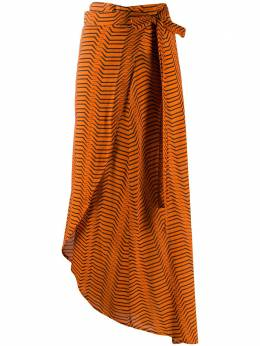 Dvf Diane Von Furstenberg юбка в полоску с запахом WWB2918XDVF