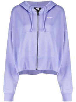 Nike укороченное худи на молнии CK1505