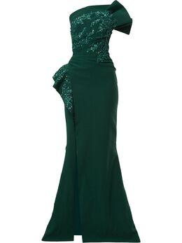 Saiid Kobeisy платье макси без бретелей RTWSS2033