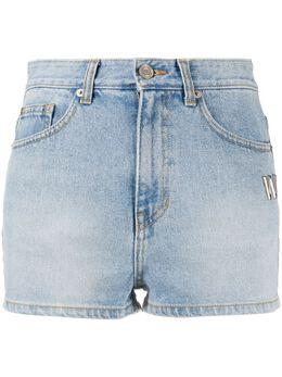 We11Done джинсовые шорты мини с завышенной талией WDDP720069WICICE