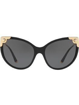 """Dolce&Gabbana Eyewear затемненные солнцезащитные очки в оправе """"кошачий глаз"""" DG433750187"""