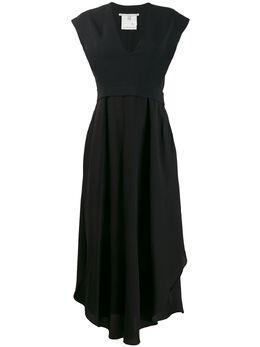 Stella McCartney платье миди с асимметричным подолом 588863SY206