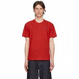 Comme Des Garcons Play Red Double Hearts T-Shirt P1T226