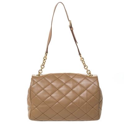 Dolce&Gabbana Brown Quilted Leather Miss Kate Shoulder Bag 294404 - 3