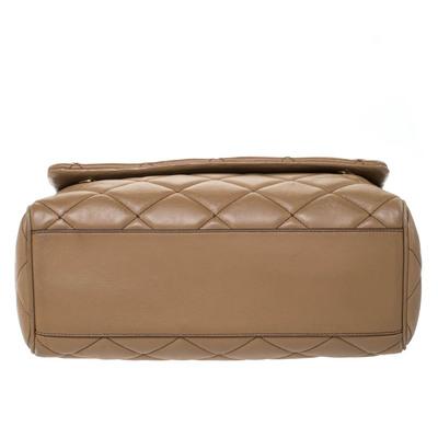 Dolce&Gabbana Brown Quilted Leather Miss Kate Shoulder Bag 294404 - 5
