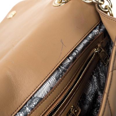 Dolce&Gabbana Brown Quilted Leather Miss Kate Shoulder Bag 294404 - 7