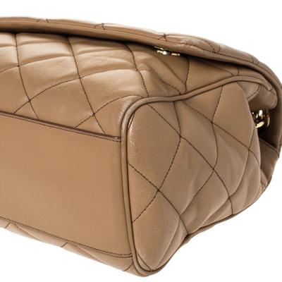 Dolce&Gabbana Brown Quilted Leather Miss Kate Shoulder Bag 294404 - 10
