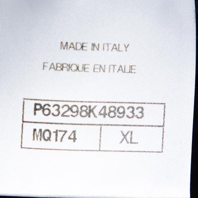 Chanel Black Printed & Embellished Cotton Long Sleeve Sweatshirt XL 292391 - 5