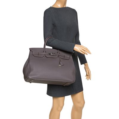 Hermes Etain Togo Leather Palladium Hardware Birkin 40 Bag 292540 - 1