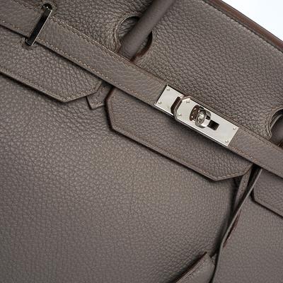 Hermes Etain Togo Leather Palladium Hardware Birkin 40 Bag 292540 - 6