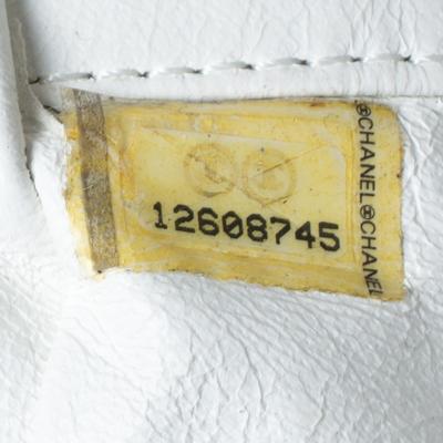 Chanel White Leather Sensual Accordion Flap Bag 294228 - 7