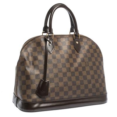 Louis Vuitton Damier Ebene Canvas Alma MM Bag 294224 - 2