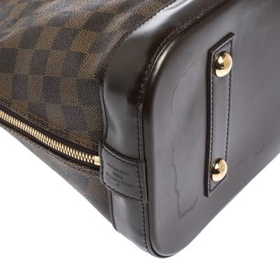 Louis Vuitton Damier Ebene Canvas Alma MM Bag 294224 - 9