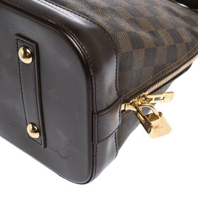 Louis Vuitton Damier Ebene Canvas Alma MM Bag 294224 - 10