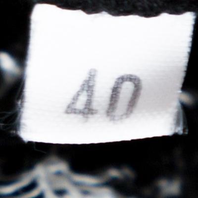 M Missoni Monochrome Textured Knit Shift Dress S 292514 - 5