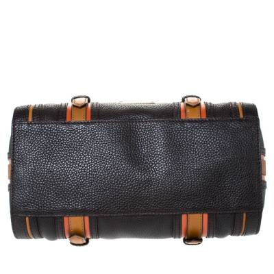 Burberry Brown Leather Alchester Bowler Bag 294676 - 5