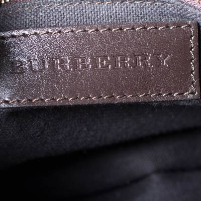 Burberry Brown Leather Alchester Bowler Bag 294676 - 7