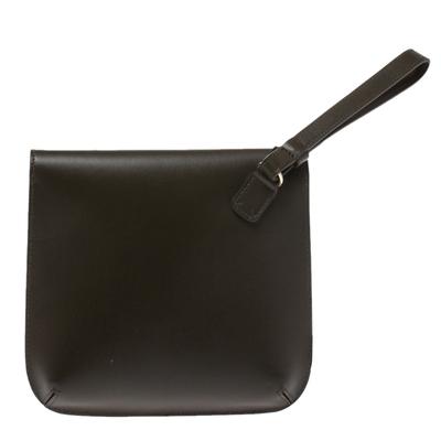 Giorgio Armani Khaki Green Wristlet Clutch 294205 - 3