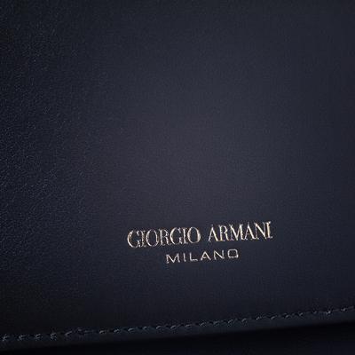 Giorgio Armani Khaki Green Wristlet Clutch 294205 - 7
