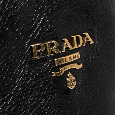 Prada Black Leather Knee Length Buckle Strap Boots Size 40 294683 - 6