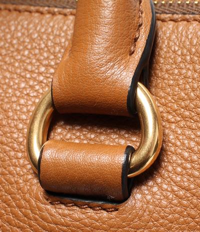Prada Brown Vitello Phenix Leather Bauletto Bag 293813 - 5