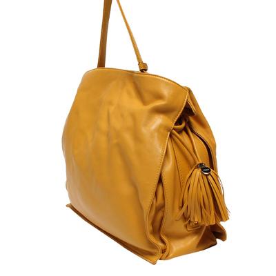 Loewe Yellow Leather Flamenco Knot Bag 293812 - 1