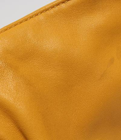 Loewe Yellow Leather Flamenco Knot Bag 293812 - 6