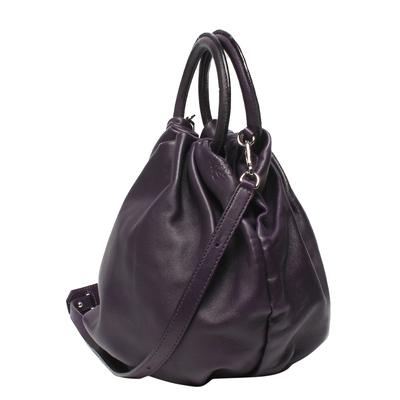 Loewe Black Leather Bounce Bag 293811 - 1