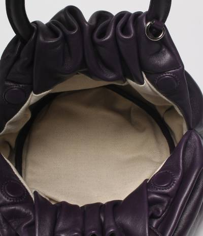 Loewe Black Leather Bounce Bag 293811 - 3