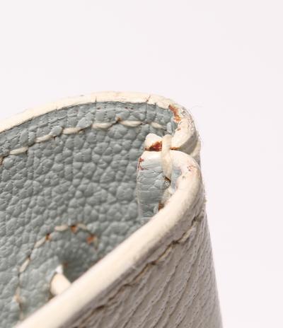 Hermes White Chevre de Coromandel Cabana Tote Bag 293810 - 5