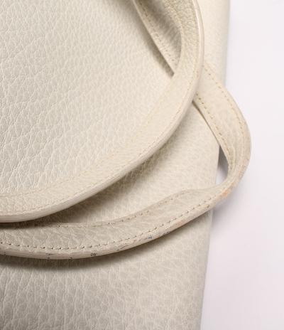 Hermes White Chevre de Coromandel Cabana Tote Bag 293810 - 6