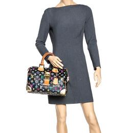 Louis Vuitton Black Multicolore Monogram Canvas Speedy 30 Bag 294668