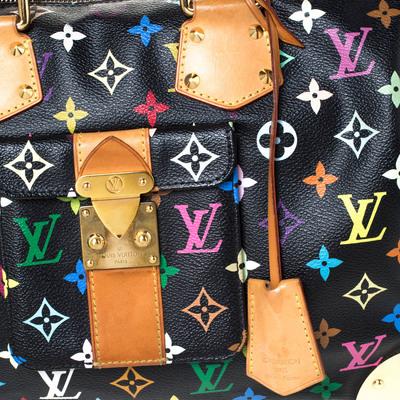 Louis Vuitton Black Multicolore Monogram Canvas Speedy 30 Bag 294668 - 4
