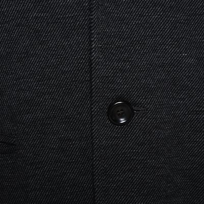 Armani Collezioni Grey Twill Two Buttoned Jacket M 294278 - 3