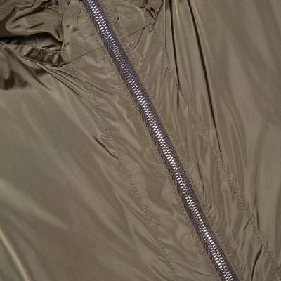 Moncler Olive Green Nylon Reversible Gobert Jacket M 294304 - 4