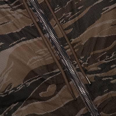 Moncler Olive Green Nylon Reversible Gobert Jacket M 294304 - 5