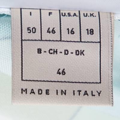 Emilio Pucci Multicolor Printed Jersey Shift Dress XL 292492 - 4