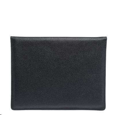 Dolce&Gabbana Black Leather iPad Envelope Case 293780 - 3