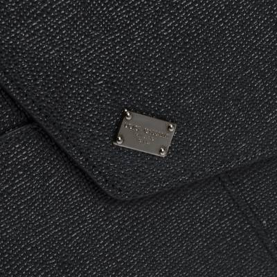 Dolce&Gabbana Black Leather iPad Envelope Case 293780 - 4